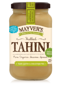 Mayvers Organic Hulled Tahini 385g 1