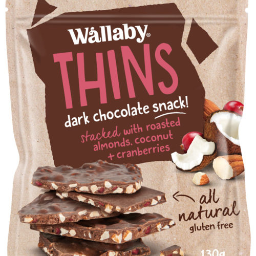 Wallaby Bark Thins Render Coconut