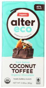 Alter Eco Coconut Coffee Dark Chocolate